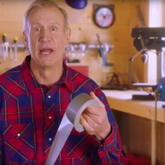 Governor Bruce Rauner released commercials in March accusing state Democrats of cobbling together a budget with duct tape.