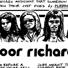 Prog rockers Poor Richard recorded ad jingles but never released their own songs