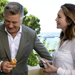 Eleanor Coppola, wife of Francis, strokes her vanity with Paris Can Wait