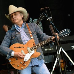 Honky-tonk great Dwight Yoakam gives his music the bluegrass treatment