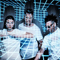 Poptone revisit the work of Bauhaus, Tones on Tail, and Love and Rockets
