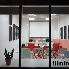 A view outside Filmfront