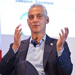 Emanuel urges Trump to increase federal gas tax, stop slamming Chicago, and other Chicago news