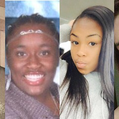 From left: 15-year-old  Brian Llamas, 14-year-old Tamera Wright, 17-year-old Jayda Moore, and 12-year-old Gisell Fierros have all been reported missing in the last 24 hours