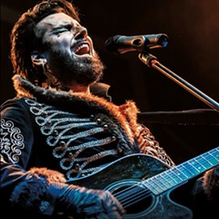 Aurelio Voltaire gives gothic cabaret the jolt of over-the-top silliness we all knew it needed