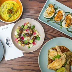Proxi takes diners around the world in 32 dishes