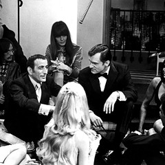 Tony Bennett with Hugh Hefner on a 1960 episode of the Chicago-based Playboy's Penthouse
