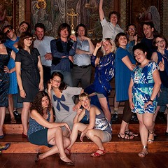 The Blue Ribbon Glee Club turns ten with a reunion party for fans, friends, and alums