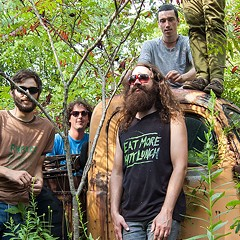 Chicago instrumental spellcasters Cave play New Year's Eve for its first local show in over two years