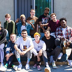 Sprawling boy band Brockhampton refashion pop music in their own image