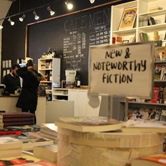 Volumes Bookcafe isn't just a bookstore, it's a community hub.