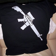In Canada, the only assault rifles are on t-shirts.