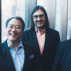 All-star chamber trio Emanuel Ax, Leonidas Kavakos, and Yo-Yo Ma tackle Johannes Brahams's three piano trios