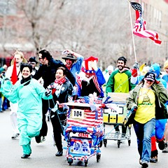 Catch creative costumes and carts at Chiditarod XIII on 3/3.