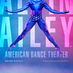 The Alvin Ailey American Dance Theater performs 3/9-3/11.
