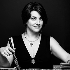 Shanna Gutierrez presents a program of new music for flute and electronics