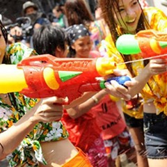 Get wet at the first Thai New Year Water Festival