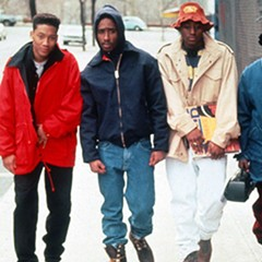 Dickerson's directorial debut, Juice (1992), screens at the Music Box Theatre on Sunday.