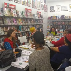 The June edition of Women's Comics Night