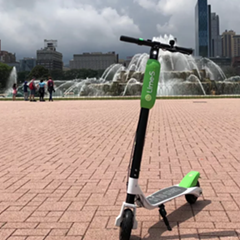 Lime's electric scooters are being tested in Chicago. Are they here to stay?