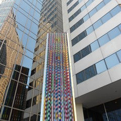 One view of Communication X9 by Yaacov Agam