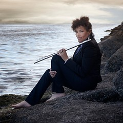 Flutist Nicole Mitchell uses music to map a possible paradise