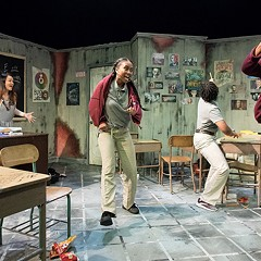 In Nilaja Sun's No Child . . . a teacher and her students discover the magic of theater