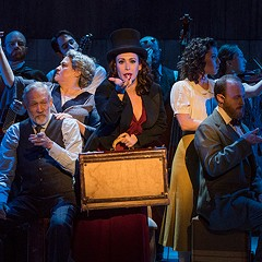 Indecent tells the story of the Yiddish play that scandalized Broadway