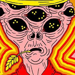 The cosmic cowboy on the gig poster of the week wants you to take him to your dealer