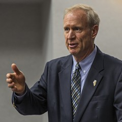 Governor Bruce Rauner in 2016