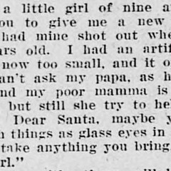 Early 20th century letters to Santa offer sometimes grim glimpse of Christmas past