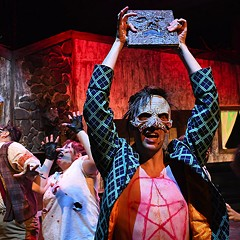 There will be blood in Evil Dead: The Musical