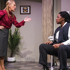 Compass Theatre makes a sharp debut with What We're Up Against
