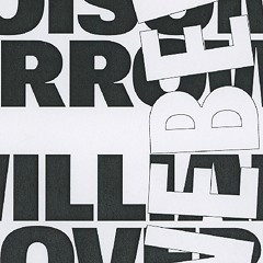 Typesetters gone wild on the gig poster of the week