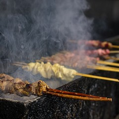 Give yourself a tongue lashing at Friend BBQ and Gao's Kabob Sports Grill