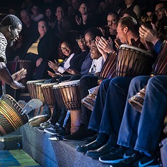 Djembe! The Show works much better as theater for kids than inspiration for adults