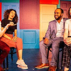 Grinning From Fear to Fear at Second City e.t.c. doesn't get funny till hour two