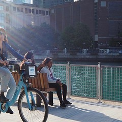 A secret history of the Riverwalk bike ban