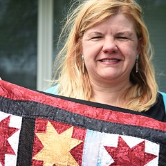 Quilts of Valor pieces together a way to honor military vets