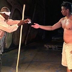 Redtwist's King Lear creates a tempest-torn world in an intimate setting