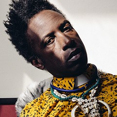 Multimedia genius Saul Williams returns with the electronic-flavored new Encrypted & Vulnerable