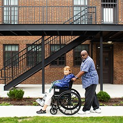 Residents reflect on rehabbed Lathrop Homes