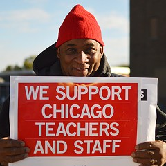Striking teachers say paychecks are the least of their problems
