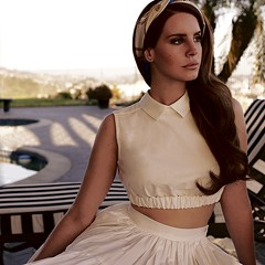 Lana Del Rey combines modern technology and her trademark despondency in timeless pop