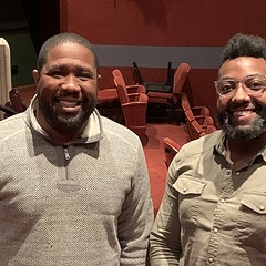 Derrick Sanders and Christopher Audain of Congo Square Theatre Company