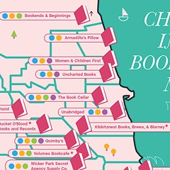The Chicago Independent Bookstore Map