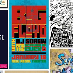 Showcasing gig posters in a year short on gigs