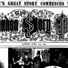 London Story Paper, where Nellie Bly's novels were serialized