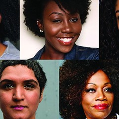 Theatre for One directors, clockwise from top left: Chris Anthony, Monet Felton, Miranda González, Regina Taylor, Lavina Jadhwani