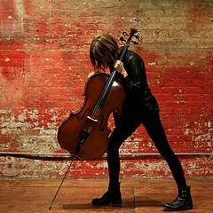 Alison Chesley, cellist and composer, aka Helen Money